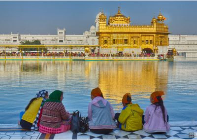 Family at the Golden Temple